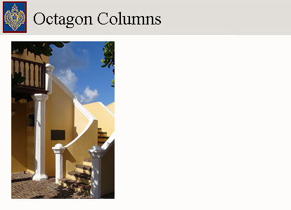Click for octagon columns