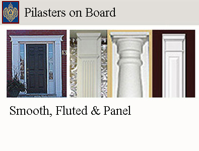 click for Pilaster Main Page
