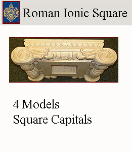 Click for Roman Ionic Square